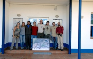 I visit the awesome team from the El Acebuche breeding center for the highly endangered Iberian lynx. Photo: Sandra Barba