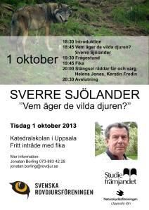 Sverre Sjölander Uppsala